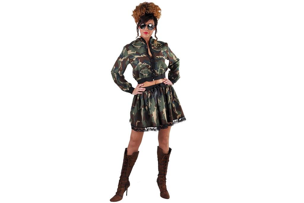 Camouflage jasje 215149