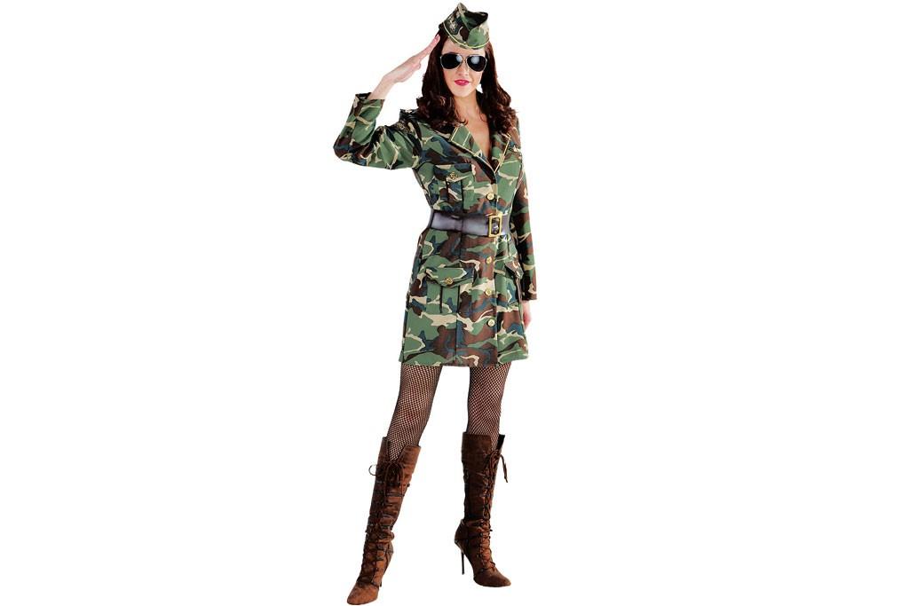 Camouflage jurkje
