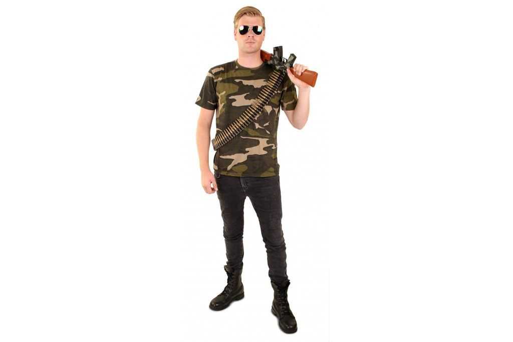 Camouflage T-shirt 08420-08427
