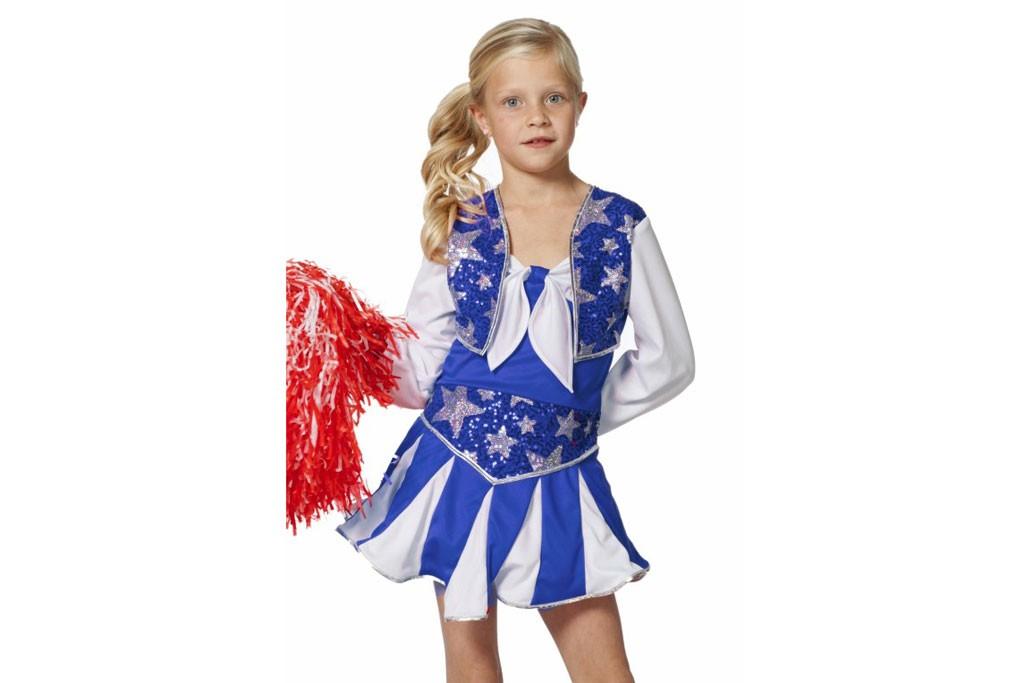 Cheerleader blauw wit