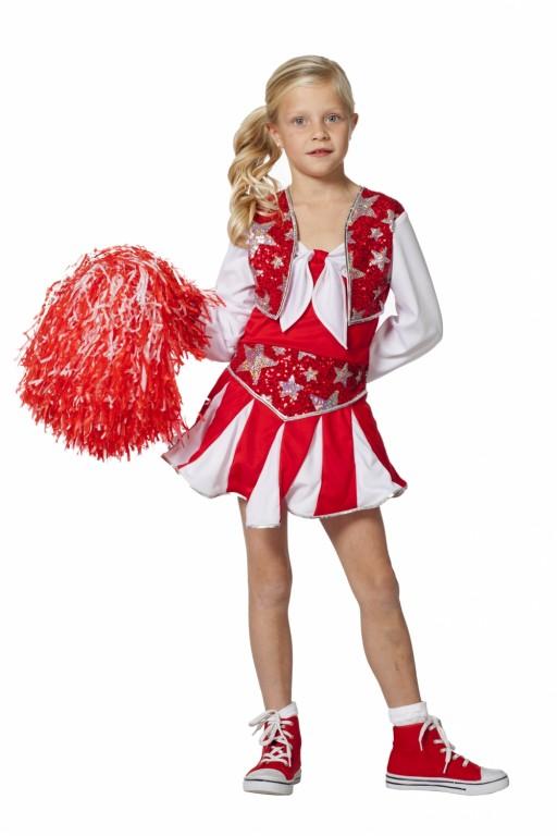 Cheerleader rood wit