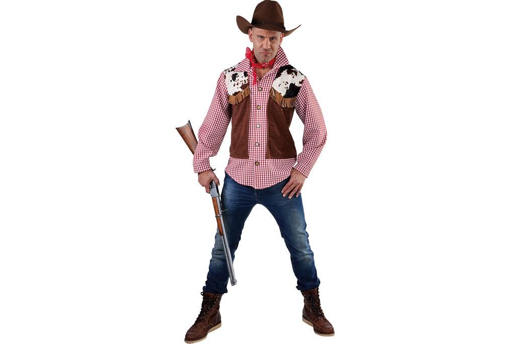 cowboy blouse met vest