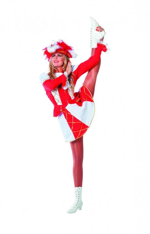 Dansmarietje rood