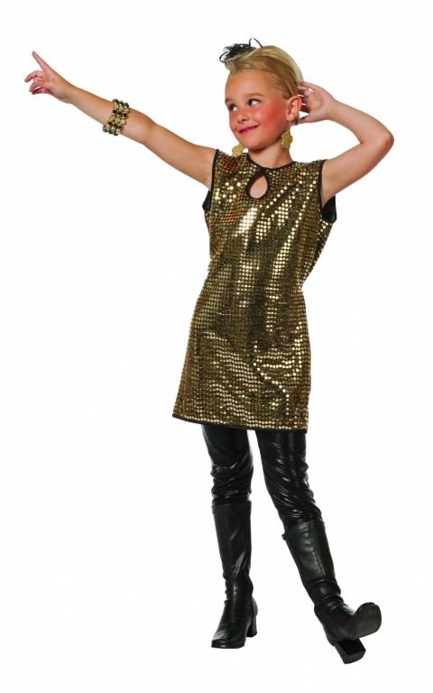 Disco/glitter jurkje