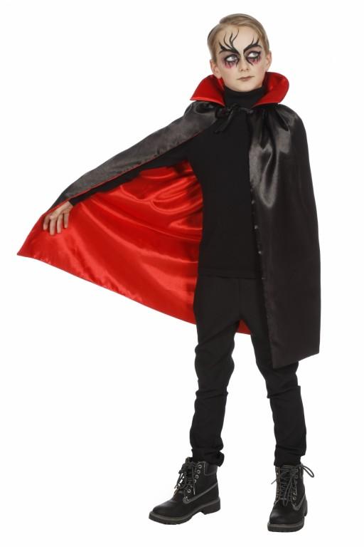 cape haloween zwart