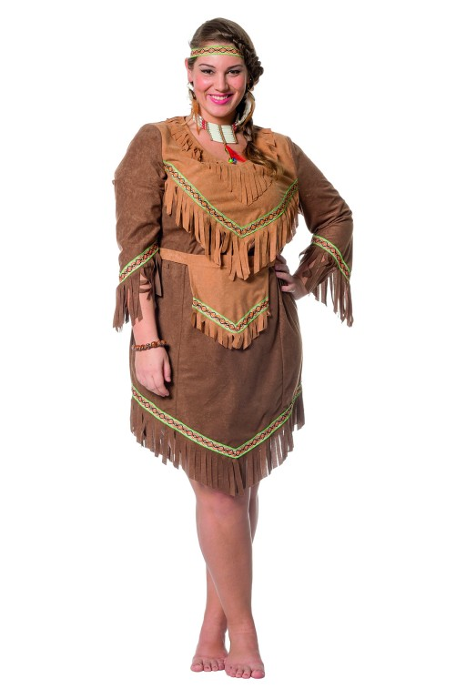Carnavalskleding Dames Indiaan.Indianen Jurk Robbies Feestkleding