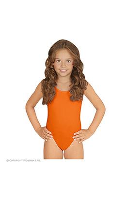 mouwloze body ass. maten kind, oranje