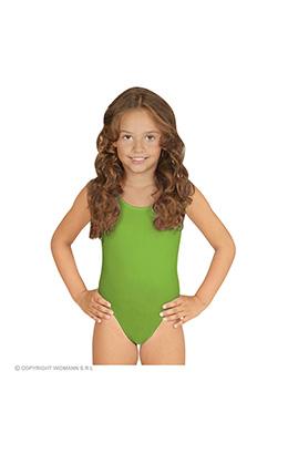 mouwloze body ass. maten kind, groen
