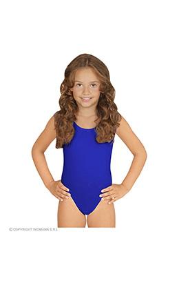mouwloze body ass. maten kind, blauw