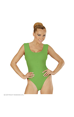 mouwloze body volwassen, groen