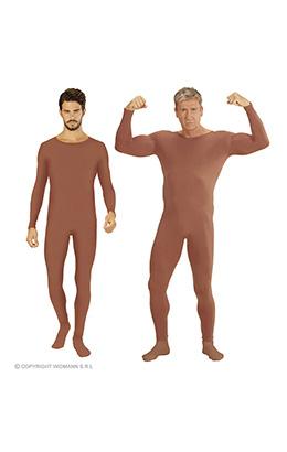 bodysuit lichaamskleur m/l