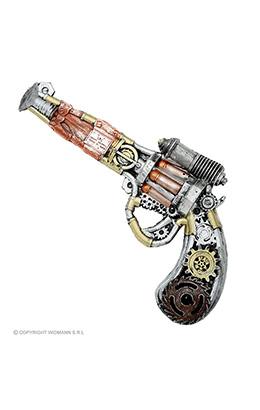 foam pistool steampunk 32cm