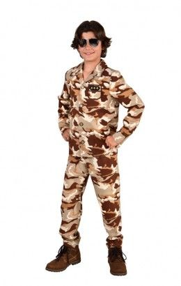 Desert storm camouflage outfit