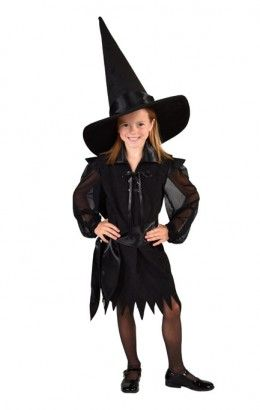Heksenjurkje halloween zwart