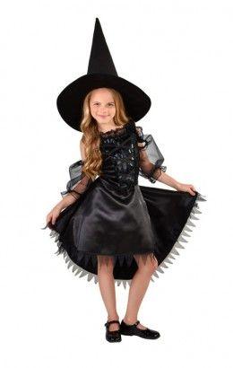 Halloween jurkje heks zwart