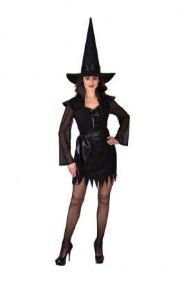 Halloween jurkje zwart