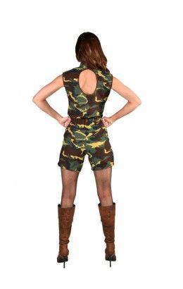 Camouflage pakje dames