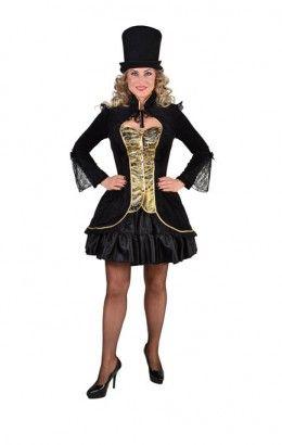 Burlesque jasje zwart