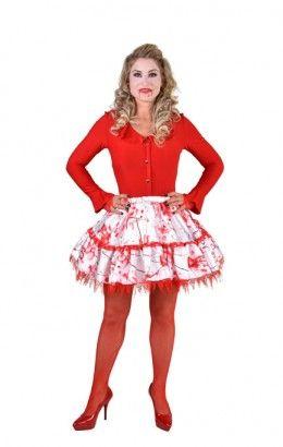 Halloween rokje met bloed
