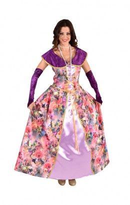 Markiezin jurk rozen