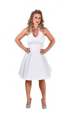 Marilyn jurk wit