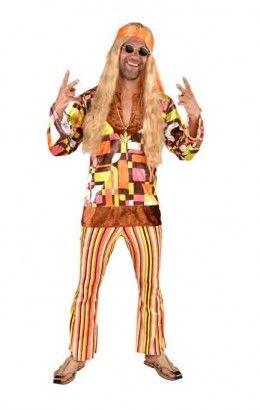 Hippie retro kostuum