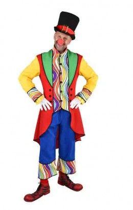 Clownspak regenboog