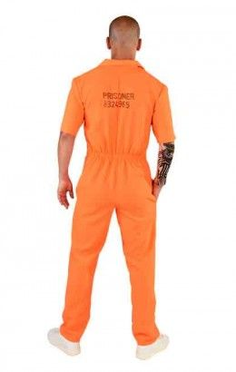 Amerikaanse overall oranje