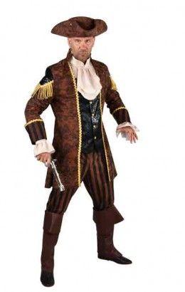 Piraat bruin zwart
