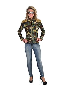 Camouflage jasje 220136