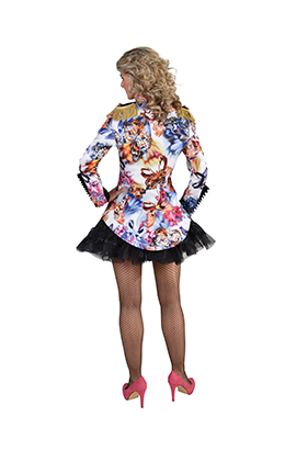 Carnavalsjas dames vlinder