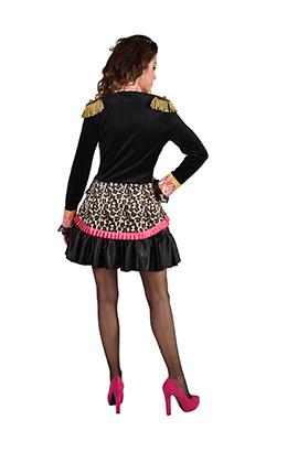 Carnavalsjasje dames panterprint