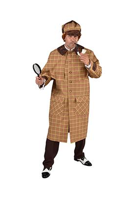Sherlock detective kostuum