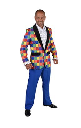Colbert multicolor geblokt