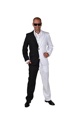 Black & white kostuum