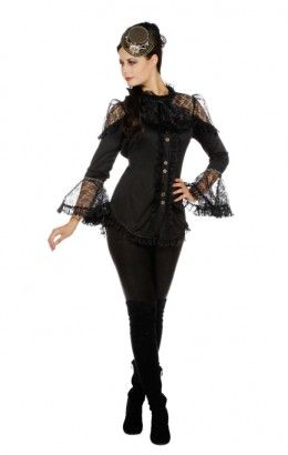 Blouse steampunk/piraat