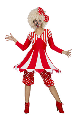 Circustent kostuum dames