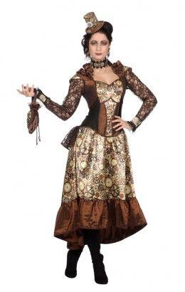 Steampunk jurk luxe