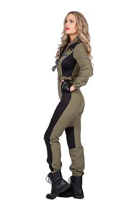 Jet pilot overall dames