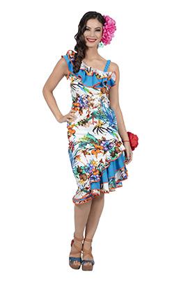Hawai jurk bloemenprint