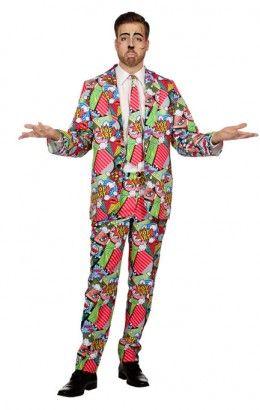 Kostuum Pop-Art