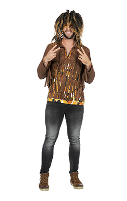 Hippie shirt heren