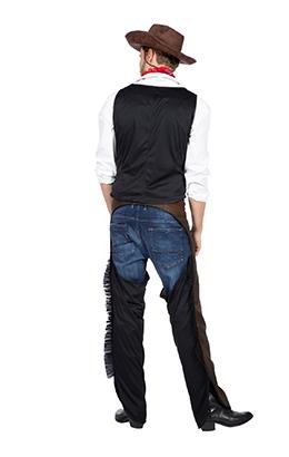 Cowboy chaps en vest