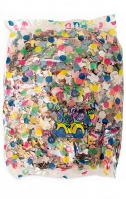 Confetti bont kleuren 100 gram