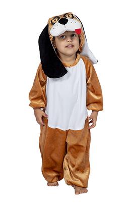 Hond baby kostuum