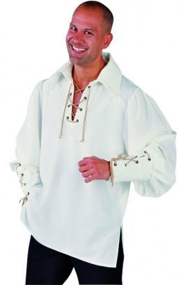 Middeleeuwse blouse/ Piratenblouse