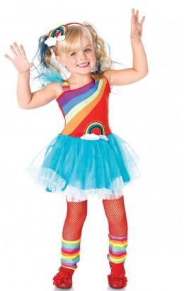 Regenboogjurkje Rainbow Doll