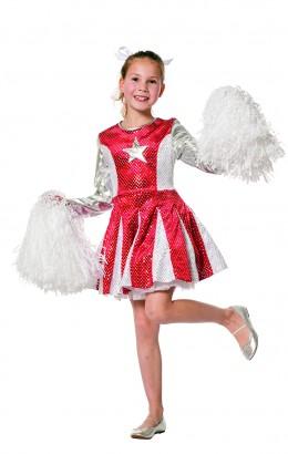 Cheerleader rood met ster