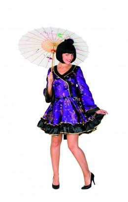 Chinees jurkje paars