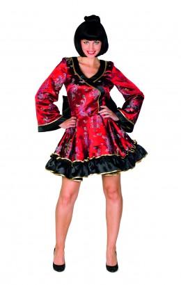 Chinees jurkje rood